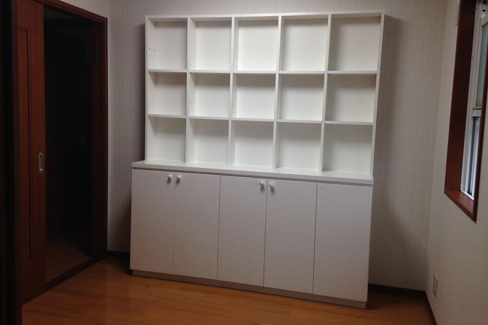 飾れる本棚