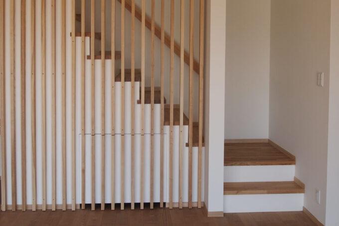 岡山の家~階段
