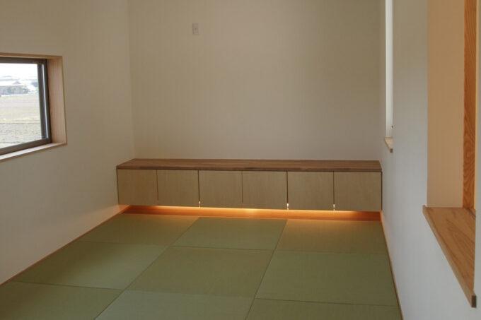 畳敷の主寝室