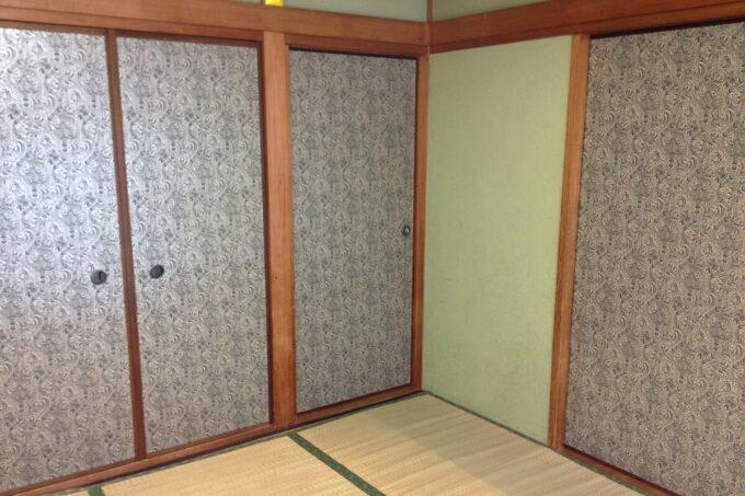 和室の襖を貼り替えました