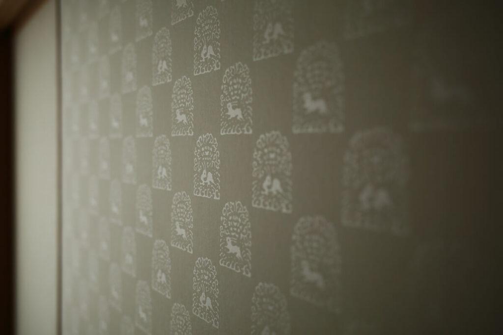 京からかみの襖