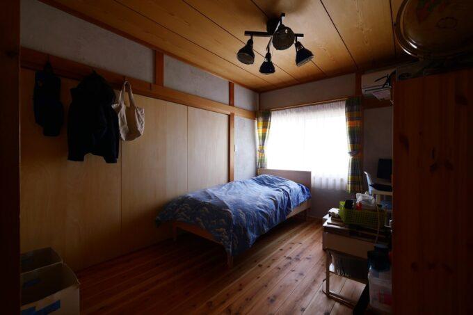 元の和室を活かした個室