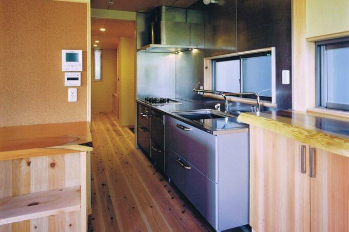 回遊動線と家事ラクなキッチン