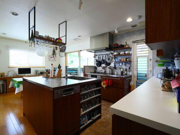 食洗機横のコップ置きスペースがとても喜ばれました